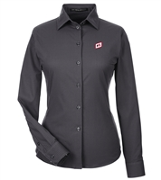 DEVON & JONES® CROWNLUX PERFORMANCE™ LADIES' MINI CHECK SHIRT