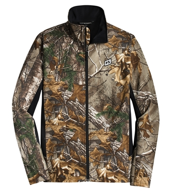 PORT AUTHORITY REALTREE CAMOUFLAGE COLORBLOCK SOFT SHELL