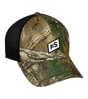 MOISTURE WICKING FRONT PANEL CAMO CAP
