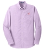 MEN'S LONG SLEEVE PORT AUTHORITY® SUPERPRO™ OXFORD SHIRT
