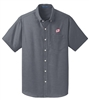 MEN'S SHORT SLEEVE PORT AUTHORITY® SUPERPRO™ OXFORD SHIRT