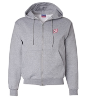 CHAMPION® DOUBLE DRY ECO® FULL-ZIP HOODED SWEATSHIRT