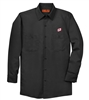 RED CAP® MEN'S LONG SLEEVE TWILL WORK SHIRT