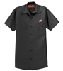 RED CAP® MEN'S SHORT SLEEVE TWILL WORK SHIRT