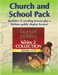 Friends and Heroes DVD Series 2 Church and School Pack Multi-Language