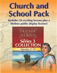Friends and Heroes DVD Series 3 Church and School Pack Multi-Language