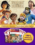 Friends and Heroes Bible Curriculum Subscription