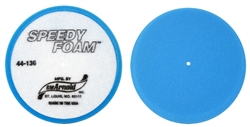 "Pad 6"" Foam Blue Flat"