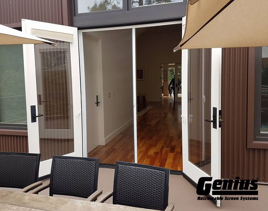 Genius milano smooth glide retractable screen for Genius retractable screen