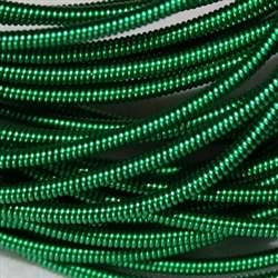 "Supa Emerald Coloured No. 2 Pearl Purl - Per 18"" cut"