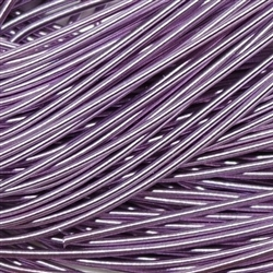 "Lilac Coloured Rough Purl No 6 - Per 18"" cut"