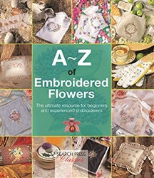 A-Z of Embroidered Flowers