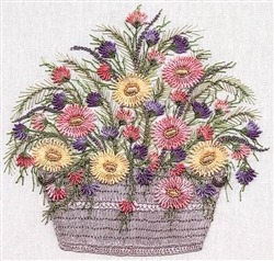 Daisy Basket - EdMar kit #1034