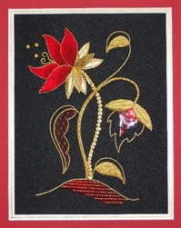 Alison Cole Embroidery -Rouge d'Or