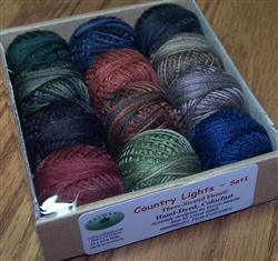3-strand floss - Country Lights, Set 1