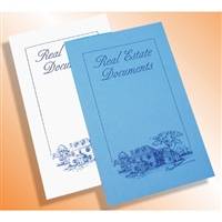 Legal Size Real Estate Document Folders