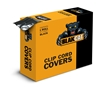 "Black Clip Cord Sleeve Roll By BlakCat (2""x1200')"