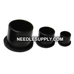 18MM Black Non-Spill Tattoo Ink Caps Bag Of 100