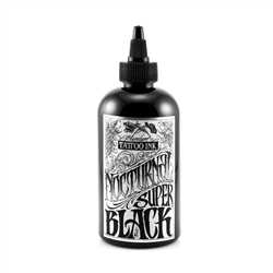 Nocturnal Tattoo Ink - Super Black (8 oz)