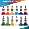 World Famous Tattoo Ink - Primary Color Set #3 (1 oz)