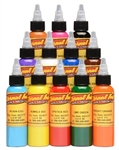 Eternal Primary Colors Tattoo Ink 1 Ounce Set