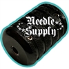 Black Alloy Tattoo Grip 1.5""