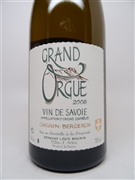 Magnin, Louis. Chignin Bergeron 'Grand Orgue' 2008 750ml