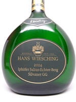 Wirsching, Hans. Silvaner GG Iphofer 'Julius Echter Berg' 2014 750ml