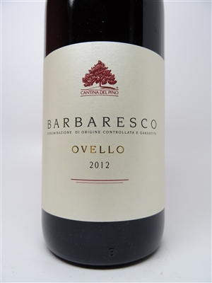 Cantina del Pino. Barbaresco 'Ovello' 2012 750ml