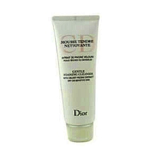 Christian Dior Gentle Foaming Cleanser 125 ml / 4.5 oz Dry or Sensitive Skin