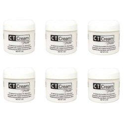 CT Cream Carpal Tunnel Cream for Pain Relief - Value 6pc pack - Carpal Tunnel Syndrome, Arthritis, Tendonitis, Bursitis 2 oz x 6 pcs super value