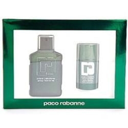 Paco Rabanne by Paco Rabanne for men 2 Pc Set 2 Piece Gift Set 3.4 oz EDT Spray + Deodorant Stick