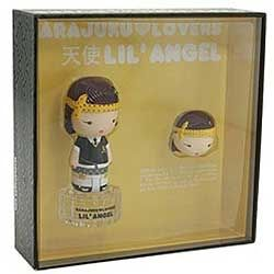 Harajuku Lovers Lil Angel by Gwen Stefani for Women 2 Piece Set 2 piece gift set 1.0 oz Eau De Toilette EDT Spray + 0.04 Solid Perfume
