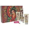 Ed Hardy Love & Luck Tokyo by Christian Audigier for Women 5 Pc Set