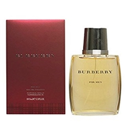 Burberry by Burberry's for Men 3.4 oz Eau De Toilette EDT Spray