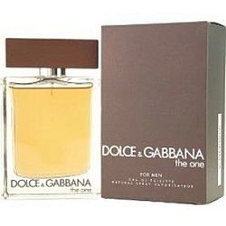 The One by Dolce & Gabbana for men 3.4 oz Eau De Toilette EDT Spray