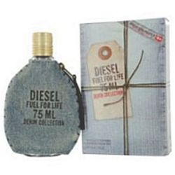 Diesel Fuel for Life Denim for men 2.5 oz Eau De Toilette EDT Spray