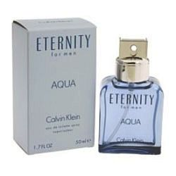 Eternity Aqua by Calvin Klein for Men 1.7 oz Eau De Toilette EDT Spray