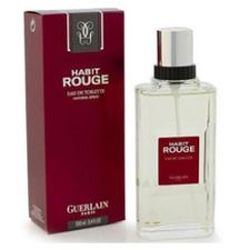 Habit Rouge by Guerlain for men 3.4 oz Eau De Toilette EDT Spray