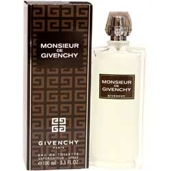 Monsieur de Givenchy for men 3.3 oz Eau De Toilette EDT Spray
