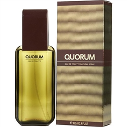 Quorum by Puig for men 3.4 oz Eau De Toilette EDT Spray