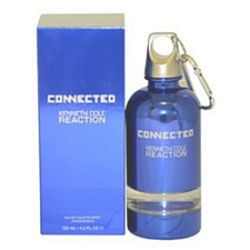 Kenneth Cole Reaction Connected for men 4.2 oz Eau De Toilette EDT Spray