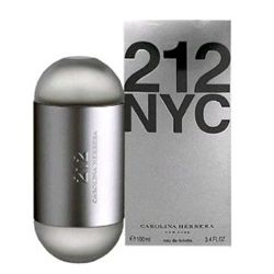 212 by Carolina Herrera for women 3.4 oz Eau De Toilette EDT Spray