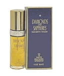 Diamonds & Sapphires by Elizabeth Taylor for women 3.3 oz Eau De Toilette EDT Spray
