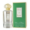 Live in Love by Oscar De La Renta for women 3.4 oz Eau De Parfum EDP Spray