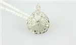 sand dollar necklace, sand dollar pendant