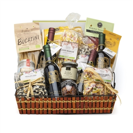 Large Rustic Gift Basket