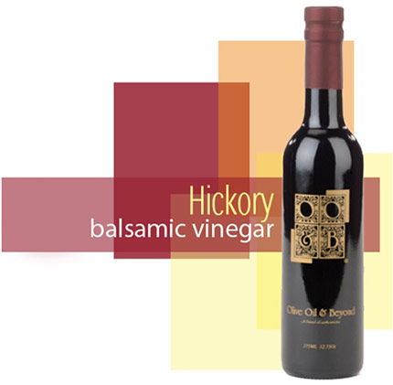 Bottle of Hickory Balsamic Vinegar