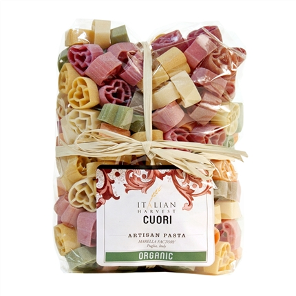 Package of Cuori - Colorful Heart Pasta