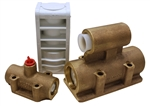 Wilden 00-2000-07 Air Valve Assembly, Brass